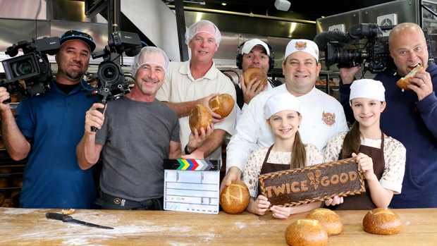Twice As Good's camera crew bites into the science of sourdough!