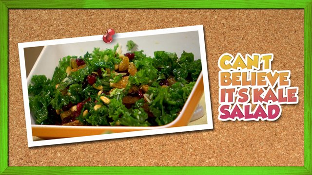 Can't Believe It's Kale Salad