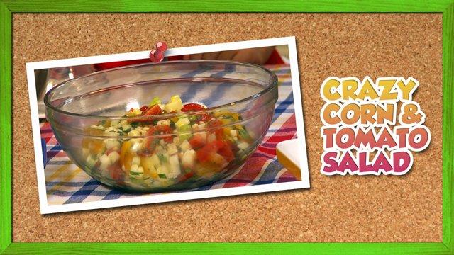 Crazy Corn & Tomato Salad
