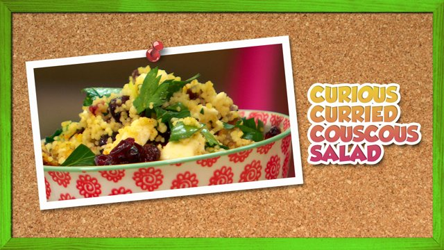 Curious Curried Couscous Salad