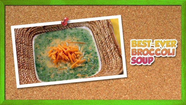 Best-Ever Broccoli Soup