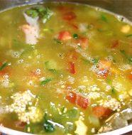 Quite Unbelievable Quinoa & Black Eyed Peas Soup