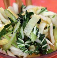 Beautiful Bok Choy Salad