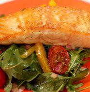Simply Sensational Salmon with Salad
