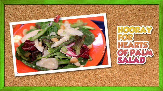 Hooray for Hearts of Palm Salad