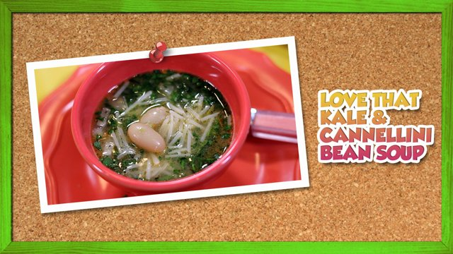 Love that Kale and Cannellini Bean Soup