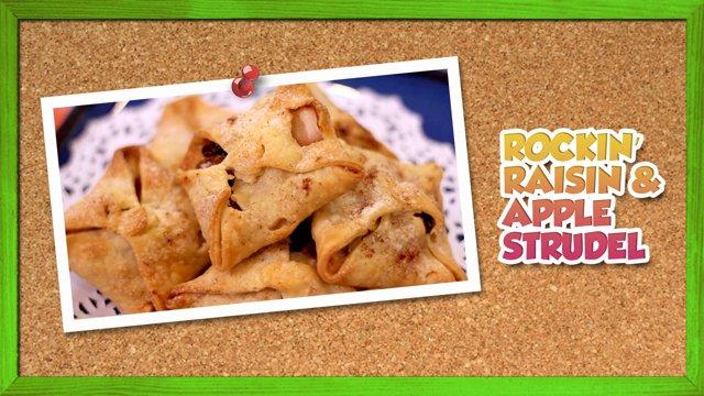 Rockin' Raisin & Apple Strudel