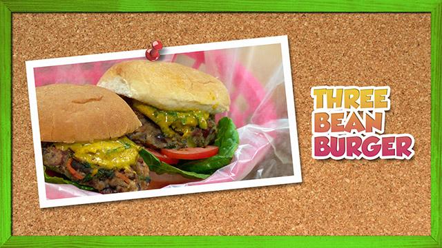 Three Bean Burger