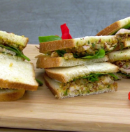 "A Taste of Biltmore - ""Estate Roast Turkey Tea Sandwich"""
