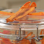 "Amazing After School Snacks! - ""Carrot Chips"""