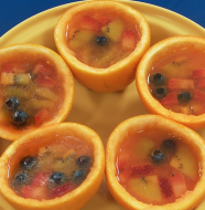 "Amazing After School Snacks - ""Orange Fruit Jelly Snacks"""