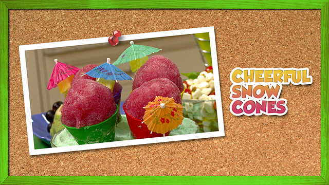 Cheerful Snow Cones