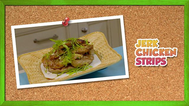Jerk Chicken Strips