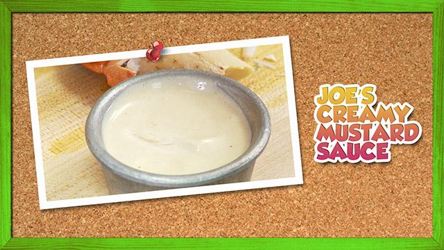 Joe's Creamy Mustard Sauce