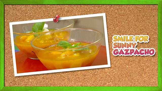 Smile for Sunny Gazpacho
