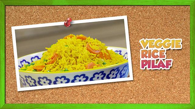 Veggie Rice Pilaf