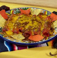 Tex Mex Cheese Enchiladas