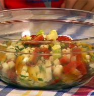Crazy Corn & Tomato Salad