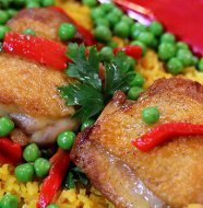 Cha Cha Chicken & Yellow Rice