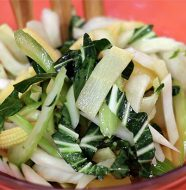 Beautiful Bok Choy Salad