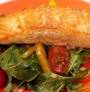 Simply Sensational Salmon with Salad