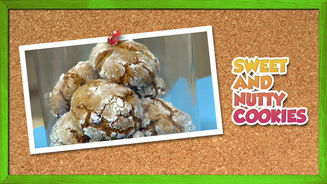 Sweet and Nutty Cookies