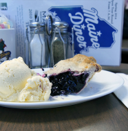 "A Taste of Maine - ""Maine Diner's Blueberry Pie"""