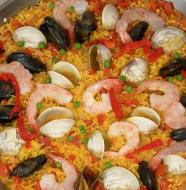 """Viva España! - """"Seafood Paella"""""""