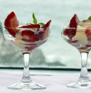 Strawberries Amaretto