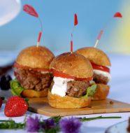A Taste of Iceland - Mini Lamb Burgers