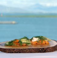 A Taste of Iceland - Smoked Trout With Cucumber Pickle