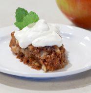 A Taste of New Mexico - Apple Pie Cake