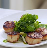 Caramelized Diver Sea Scallops