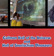 Cullman Hall of the Universe and Hall of the Saurischian Dinosaurs