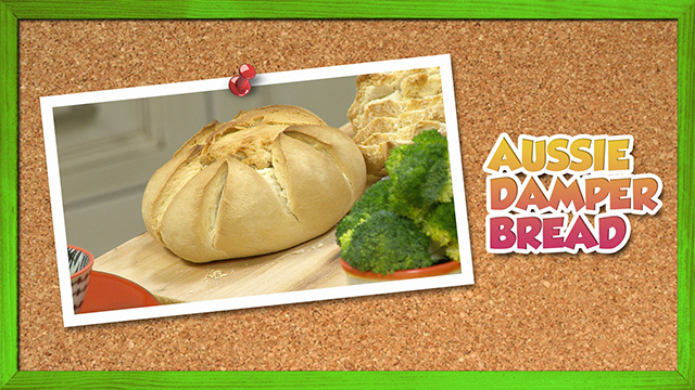 Aussie Damper Bread