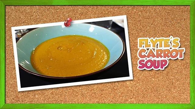 Flyte's Carrot Soup